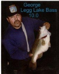 Legg lake info and map for Lopez lake fishing