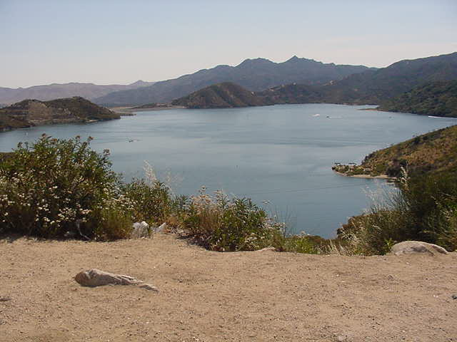 Silverwood lake info and map for Silverwood lake fishing report